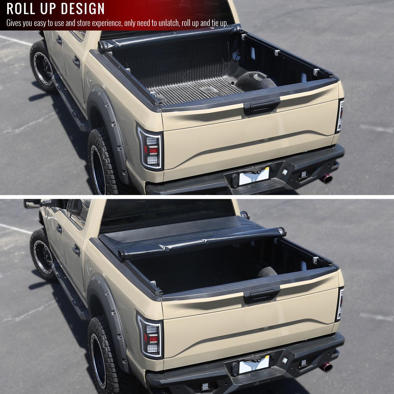 2004 2015 Nissan Titan 66 Short Bed Vinyl Tonneau Cover Spec D Tuning