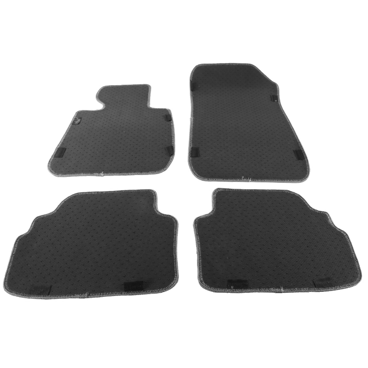 Car Floor Mats for BMW M3 Coupe E92 2009-2013 2010 2011 2012 Full Covered Advanced Leather Carpet Auto All Weather Protection Front /& Rear Liner Red