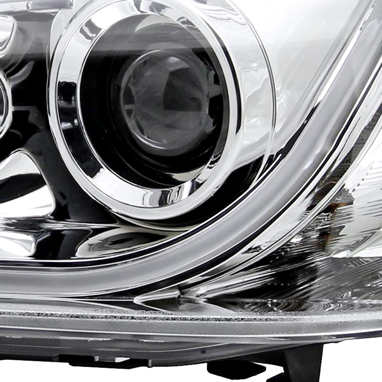 2008 2009 pontiac g8 led projector headlights chrome housing clear lens spec d tuning 2008 2009 pontiac g8 led projector