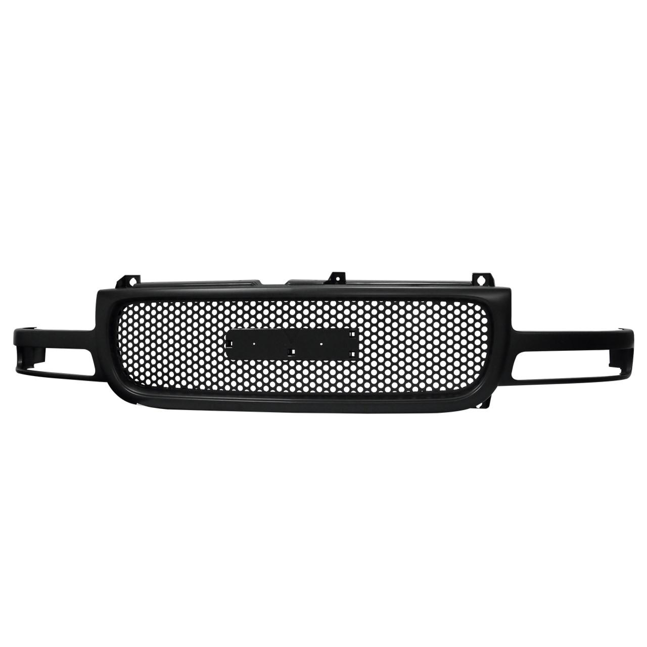 1999 2002 gmc sierra front mesh grille black spec d tuning 1999 2002 gmc sierra front mesh grille