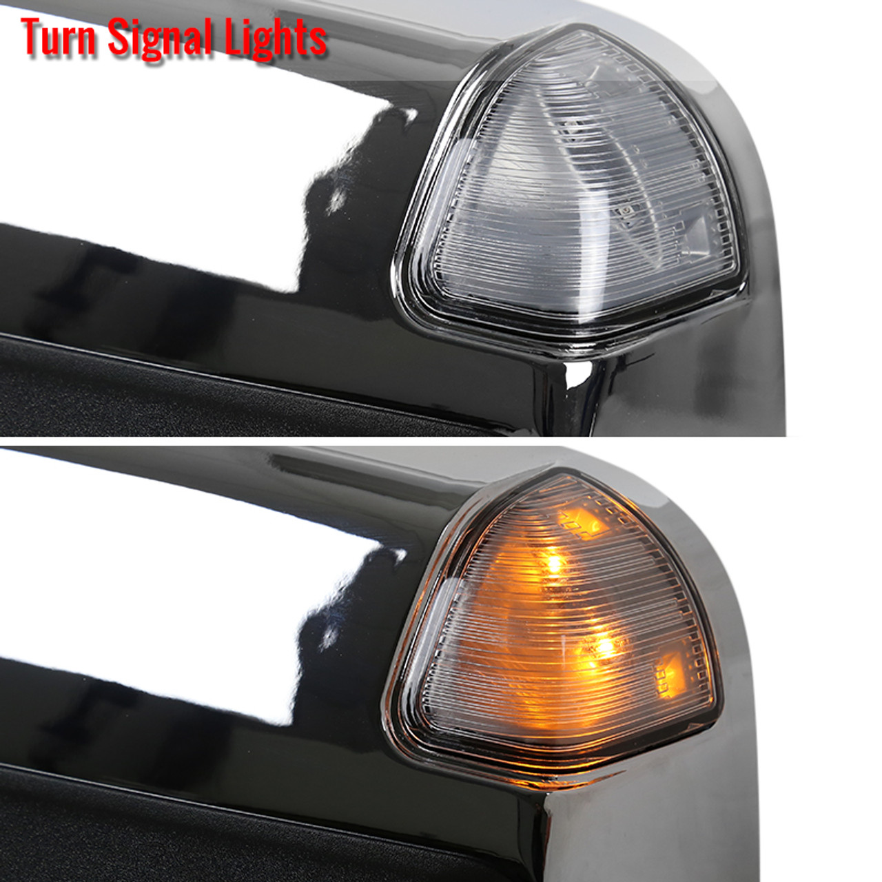 Replacement for Dodge Ram 2013-2018 1500 2500 3500 YITAMOTOR Towing Mirrors Compatible with Dodge Ram Tow Mirrors with Power Heated LED Turn Signal Light Puddle Lamp