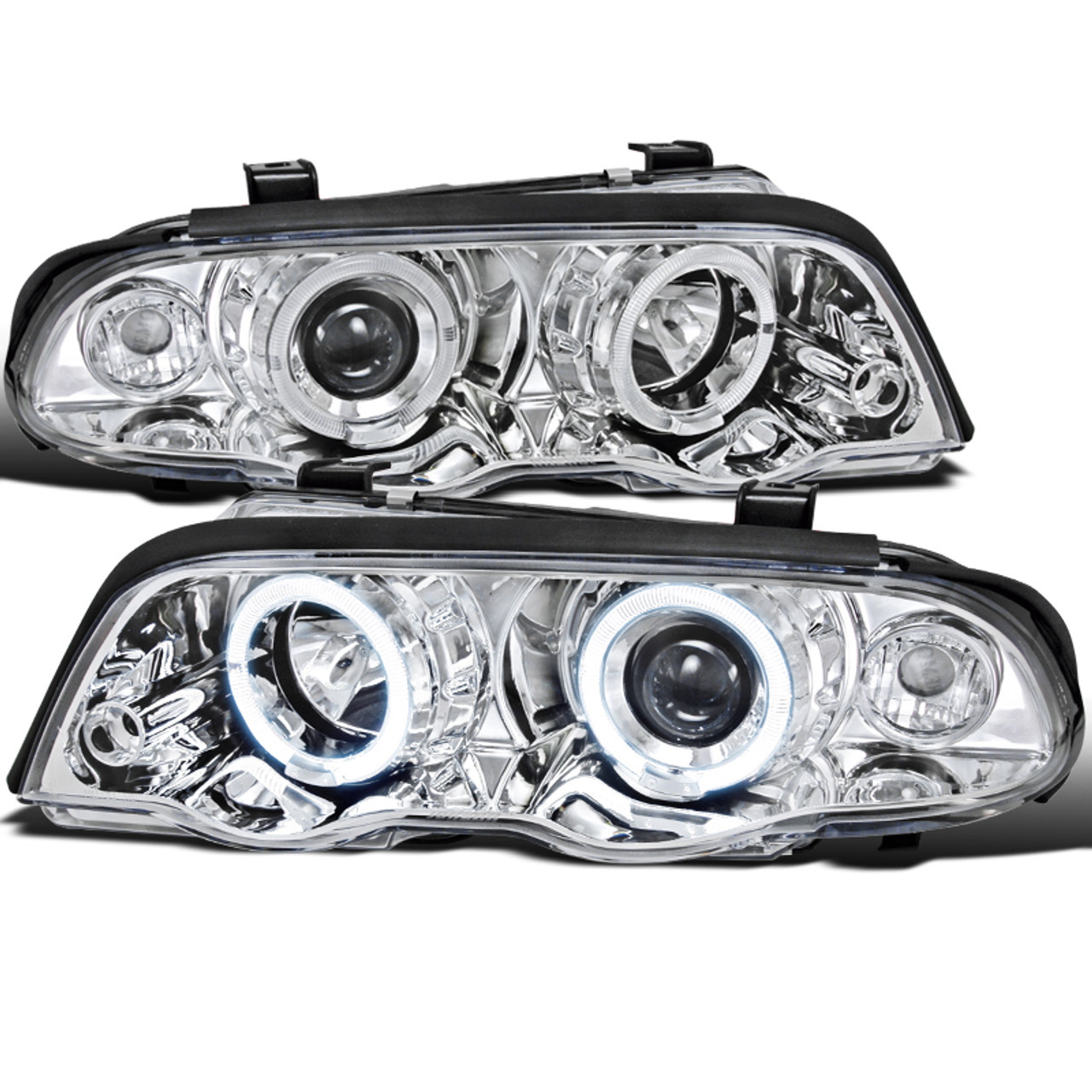 White BMW 3 Series Replacement Corner Light Assembly 1-Pair