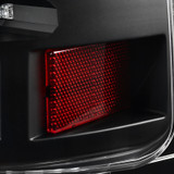 2007-2014 Chevrolet Tahoe/Suburban Black Housing Clear Lens OE Replacement LED Tail Lights