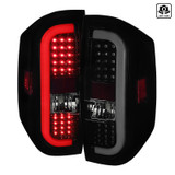 2014-2018 Toyota Tundra Smoke Lens Sequential LED Tail Lights