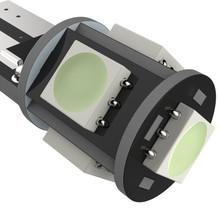 5 SMD T10 Canbus LED Bulb 2 PCS - White