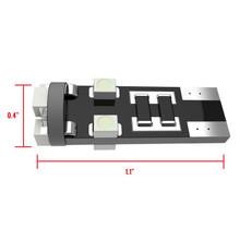 8 SMD T10 Canbus LED Bulb 2 PCS - White