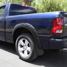 2009-2018 Dodge RAM 1500/2500/3500 Front & Rear Mud Flaps Splash Guards w/ Fender Flares