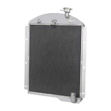1941-1946 Chevrolet Truck L6 6CYL Aluminum 3-Row Performance Cooling Radiator