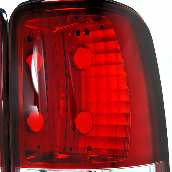 2000-2006 Chevrolet Tahoe/Suburban & GMC Yukon XL/Denali Tail Lights (Red/Clear)