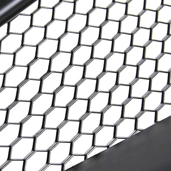 2003-2007 Infiniti G35 Coupe Black ABS Sport Style Mesh Grille