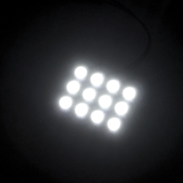 12 PC Universal Interior LED Dome Light