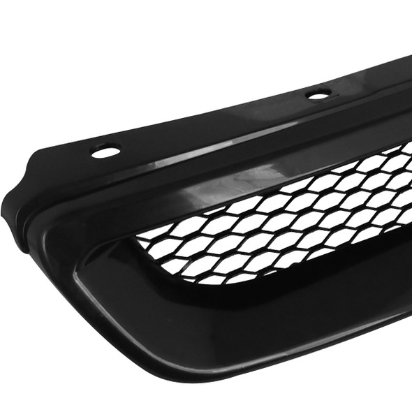 1996-1998 Honda Civic TR Style Black ABS Mesh Grille