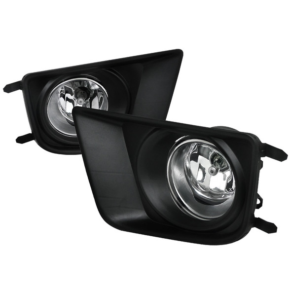 2012-2015 Toyota Tacoma H11 Fog Lights Kit (Chrome Housing/Clear Lens)