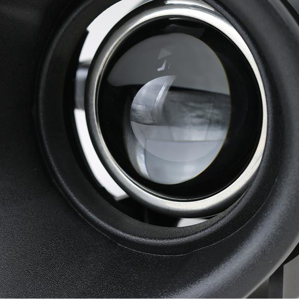 2014-2015 Chevrolet Camaro 3.6L V6 H11 Projector Fog Lights Kit (Chrome Housing/Clear Lens)