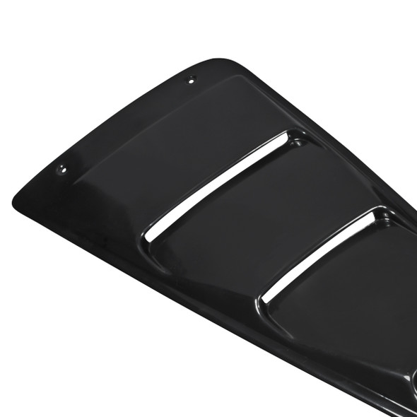 2005-2013 Ford Mustang Slotted Window Louver