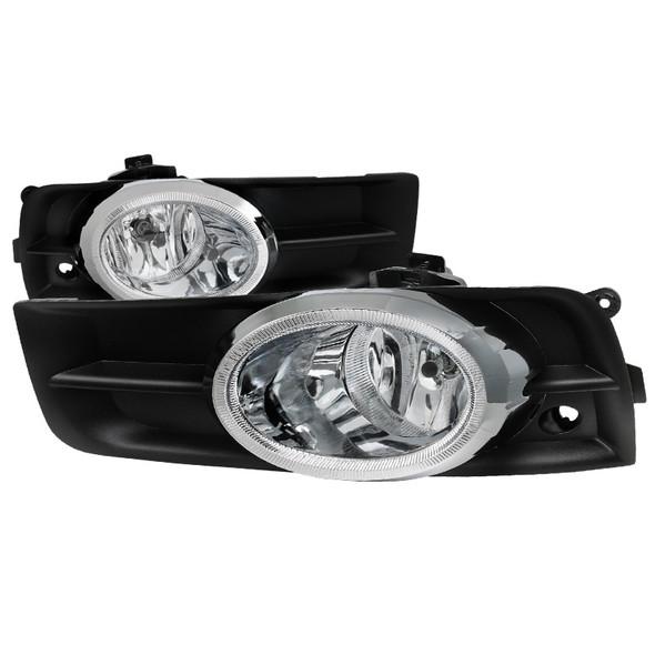 2011-2014 Chevrolet Cruze H8 Fog Lights Kit (Chrome Housing/Clear Lens)