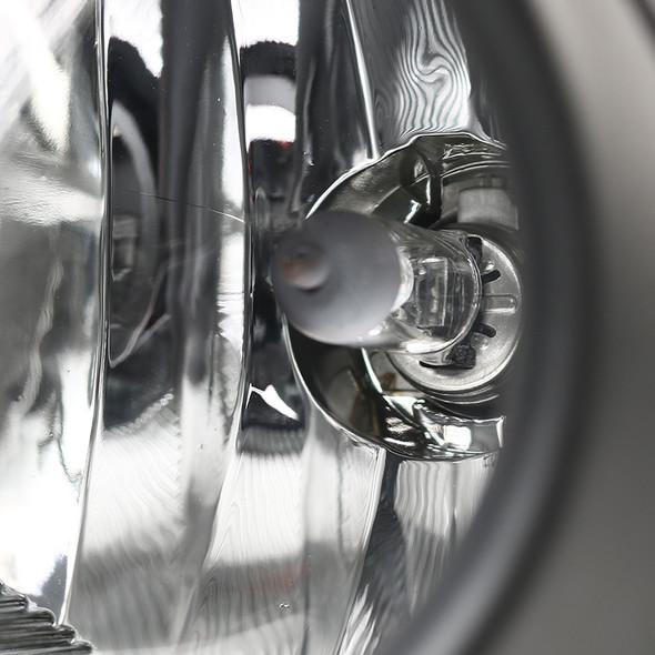 2014-2017 Lexus CT200h H16 Fog Lights Kit (Chrome Housing/Clear Lens)