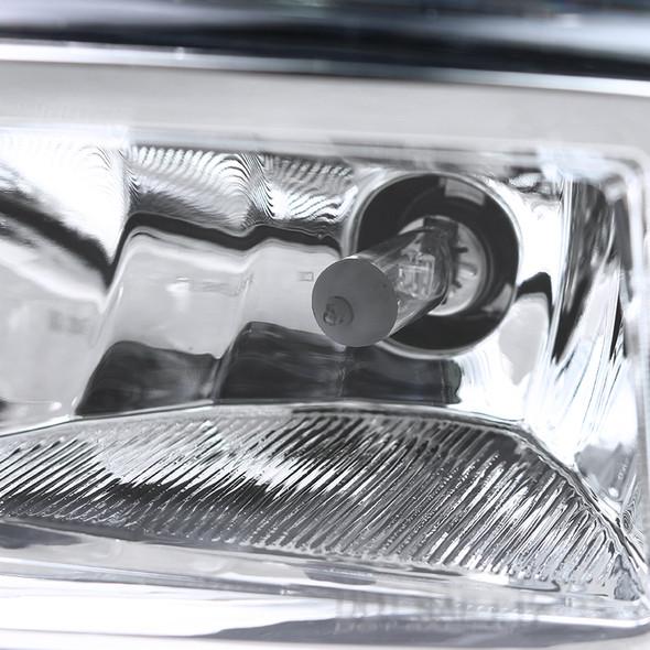 2017-2019 Nissan Versa Note H8 Fog Lights Kit (Chrome Housing/Clear Lens)