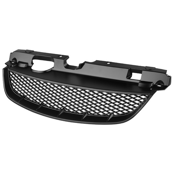 2004-2005 Honda Civic 2/4DR Black ABS TR Style Mesh Grille