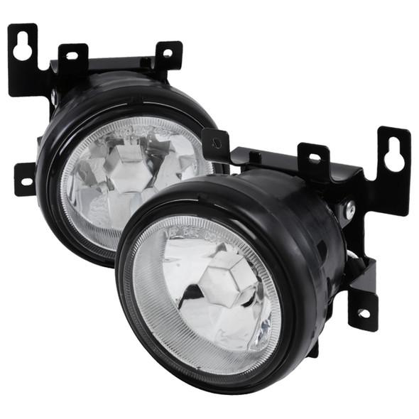 2003-2008 Honda Element 12V/55W H3 Fog Lights Kit (Chrome Housing/Clear Lens)