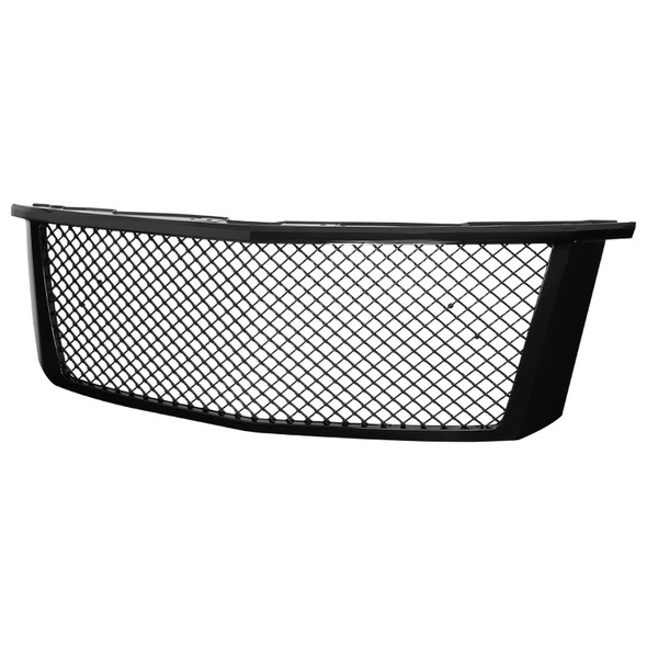 2015-2018 Chevrolet Suburban/Tahoe Glossy Black ABS Mesh Grille