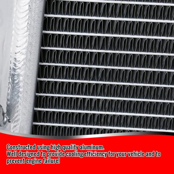 2005-2014 Ford Mustang V6/V8 Aluminum 3-Row Performance Cooling Radiator