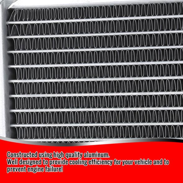 1994-2002 Dodge RAM 2500/3500 5.9 Turbo Diesel Aluminum 3-Row Performance Cooling Radiator