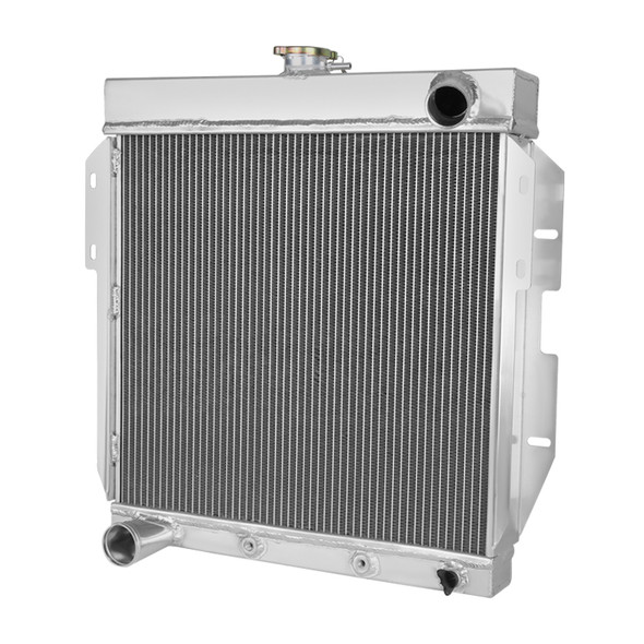 1955-1957 Ford Thunderbird Aluminum 3-Row Performance Cooling Radiator