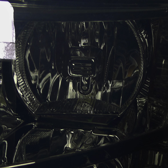 2007-2013 Chevrolet Silverado 1500/ 2007-2014 Silverado 2500HD 3500HD Factory Style Headlights (Chrome Housing/Smoke Lens)