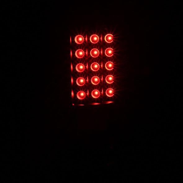 2009-2018 Dodge RAM V2 LED Tail Lights (Matte Black Housing/Clear Lens)