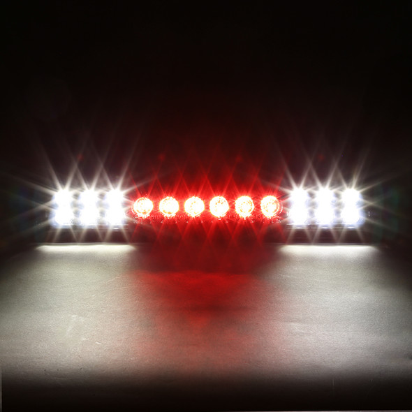 1999-2006 Chevrolet GMC Silverado/Sierra 1500/2500/3500 Chrome Housing Smoke Lens LED 3rd Brake Tail Light
