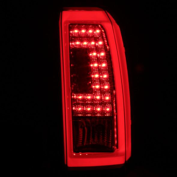 2015-2020 Chevrolet Tahoe/Suburban LS LT LTZ Premier LED Tail Lights (Chrome Housing/Clear Lens)