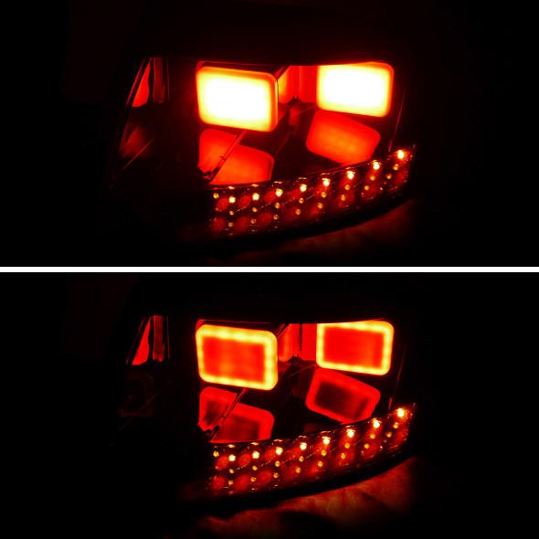 1999-2006 Audi TT Dark Smoke Lens LED Tail Lights
