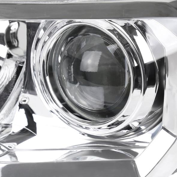 2016-2018 Toyota Tacoma Projector Headlights (Chrome Housing Clear Lens)