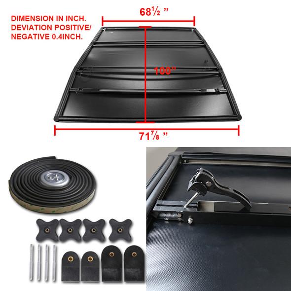 "2002-2018 Dodge RAM 1500/ 2003-2018 RAM 2500/3500 96"" Bed Tri-Fold Tonneau Cover"