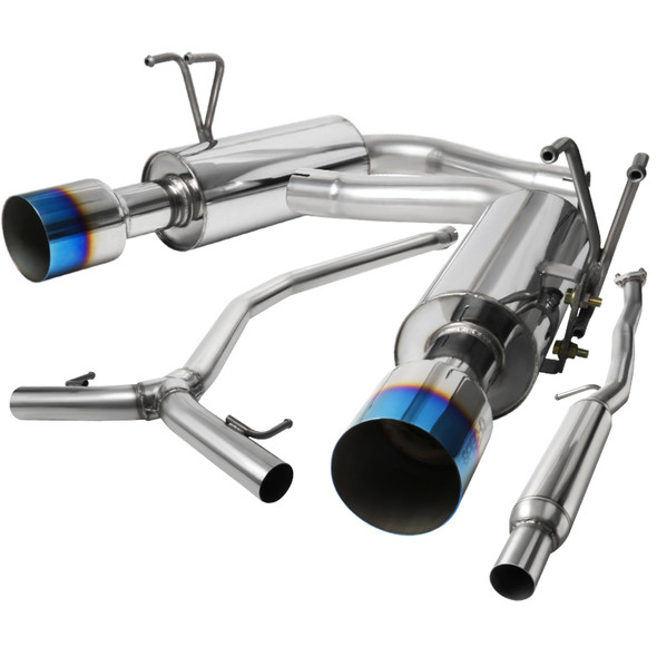 2016-2021 Honda Civic Sedan 1.5L Turbo Stainless Steel Catback Exhaust System (Burnt Tip)