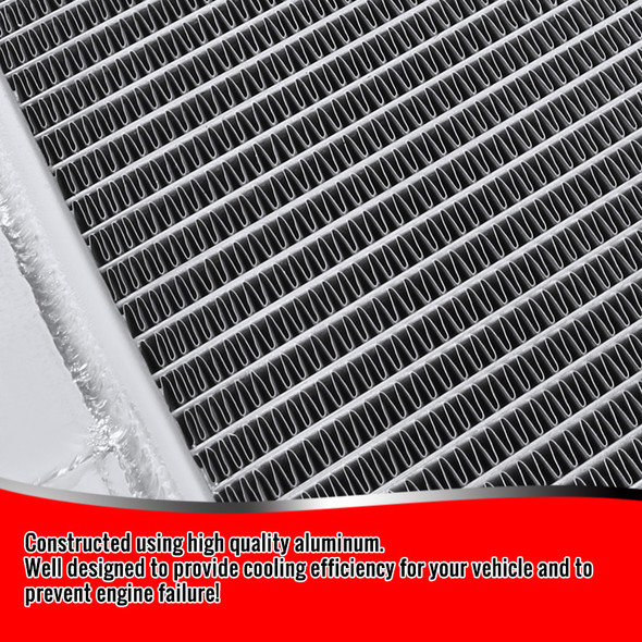 2001-2005 GMC Silverado DuRAMax 6.6L 2-Row Aluminum Performance Cooling Radiator
