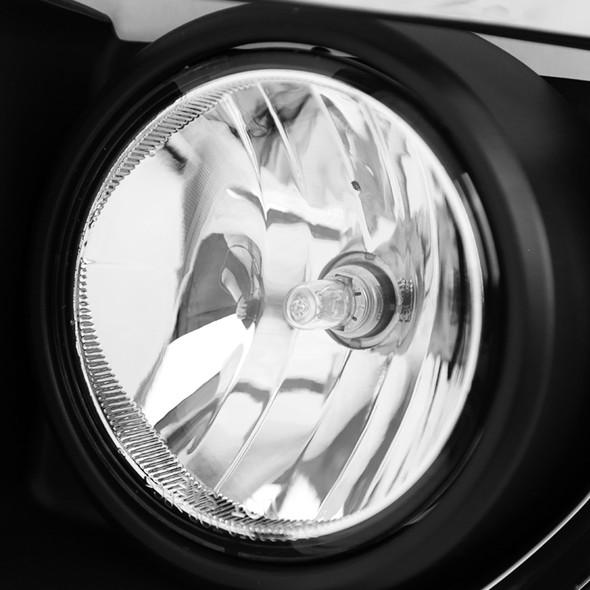 2015-2018 GMC Sierra 2500HD/3500HD PS24W Fog Lights Kit (Chrome Housing/Clear Lens)
