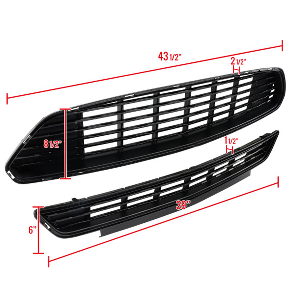 2015-2017 Ford Mustang CA Style Front Grille