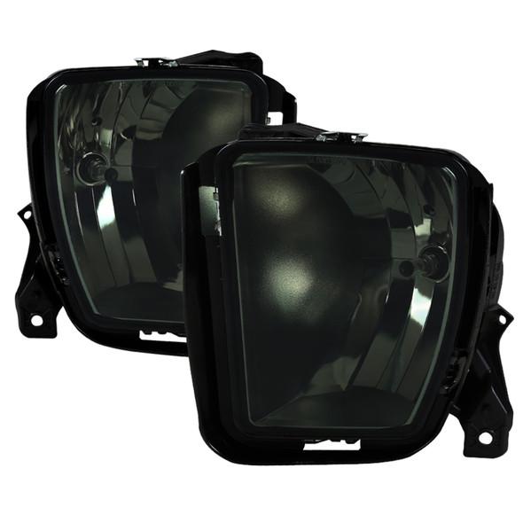 2013-2018 Dodge RAM 1500 9006 Fog Lights Kit (Chrome Housing/Smoke Lens)