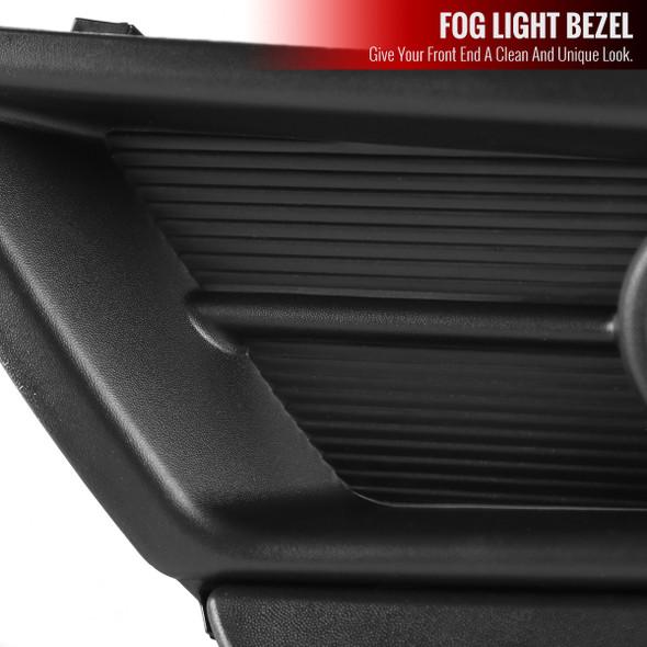 2017-2018 Honda CR-V 12V/35W H8 Fog Lights Kit (Chrome Housing/Clear Lens)