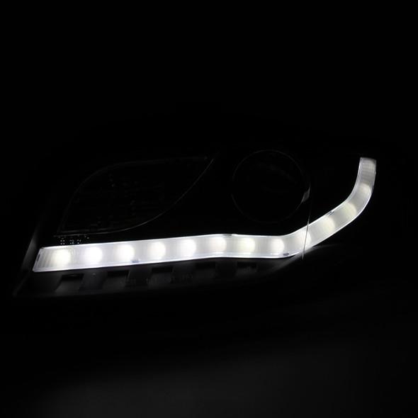 Original Audi a4 8k Prise pour projecteur Support Leadership à Gauche 8k0805607b