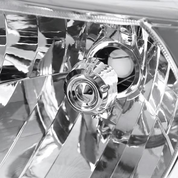 2012-2015 Toyota Tacoma Factory Style Headlights (Chrome Housing/Clear Lens)