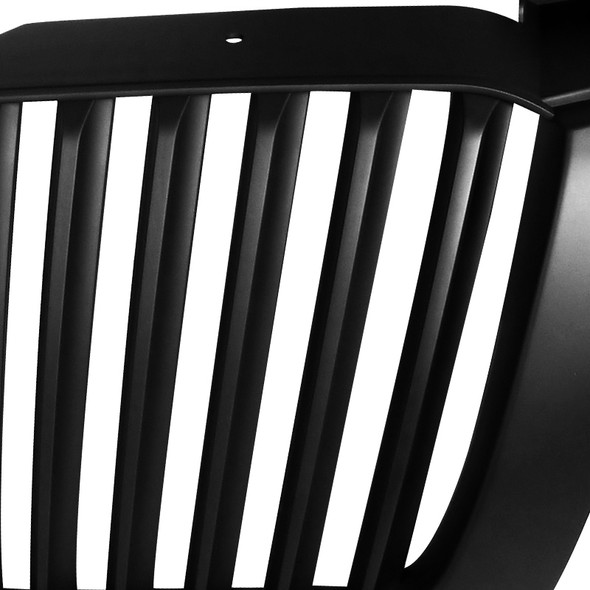 2003-2006 Chevrolet Silverado/Avalanche Mate Black ABS Conversion Vertical Grille