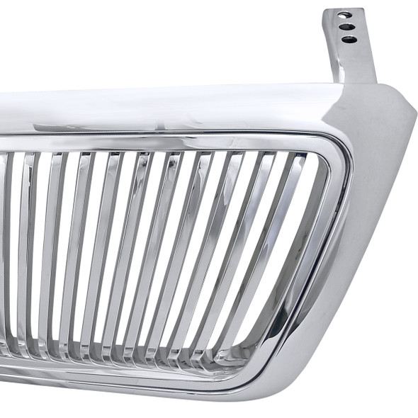 2004-2008 Ford F-150 Vertical Front Grille (Chrome)