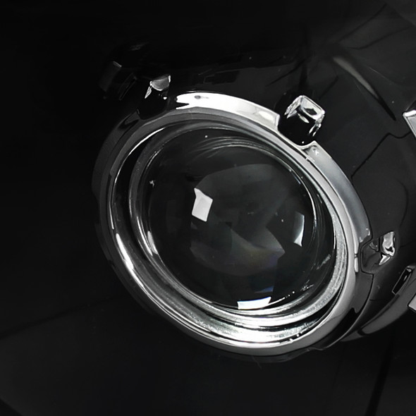 2005-2011 Toyota Tacoma Projector Headlights (Matte Black Housing/Clear Lens)