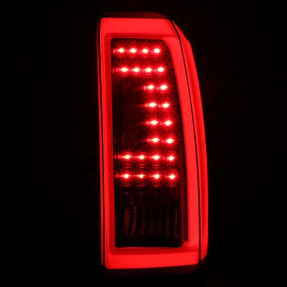 2015-2020 Chevrolet Tahoe/Suburban LS LT LTZ Premier LED Tail Lights (Matte Black Housing/Clear Lens)
