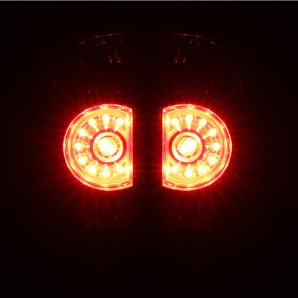 2005-2015 Toyota Tacoma LED Tail Lights (Chrome Housing/Smoke Lens)