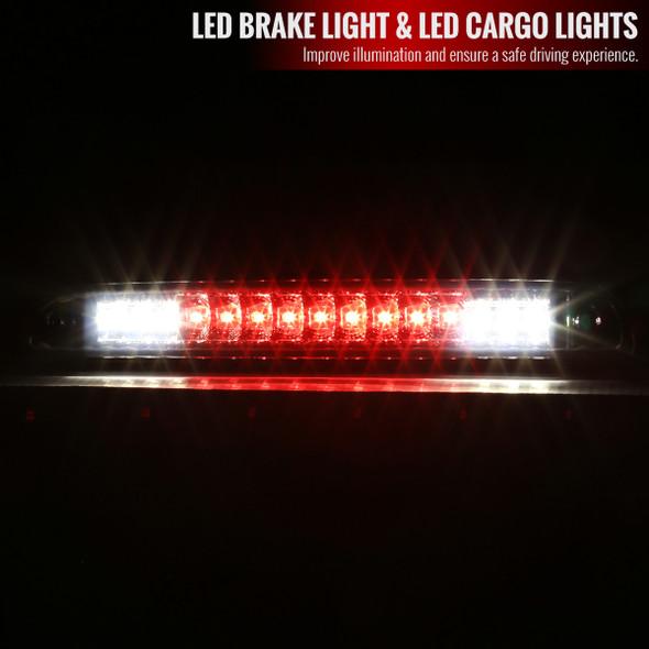 1992-1996 Ford F-150/F-250/F-350/Bronco LED 3rd Brake Light (Chrome)