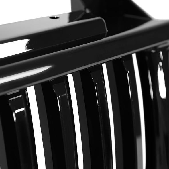 1999-2006 Chevrolet Silverado Silverado/Tahoe/Suburban Glossy Black ABS Vertical Grille